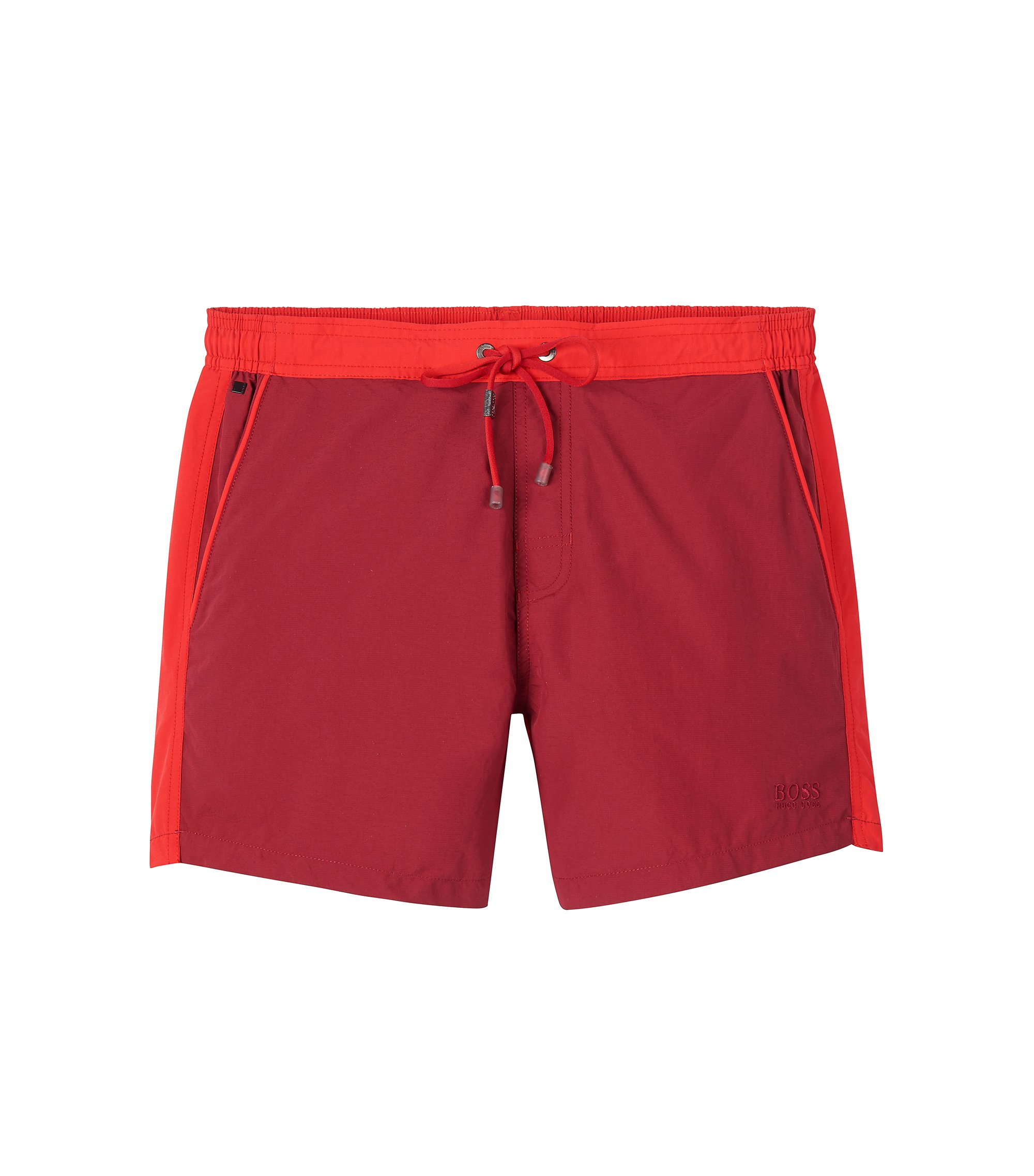 Quick Dry Swim Trunk | Snapper, Open Red