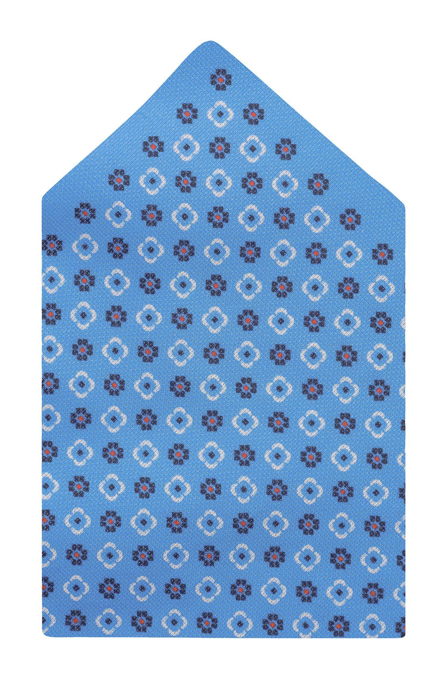 'Pocket Square 33 x 33' | Cotton Printed Pocket Square