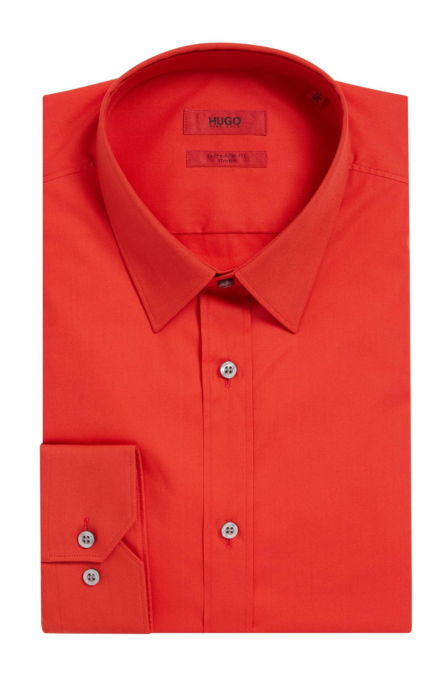 Stretch Cotton Dress Shirt, Slim Fit| Elisha