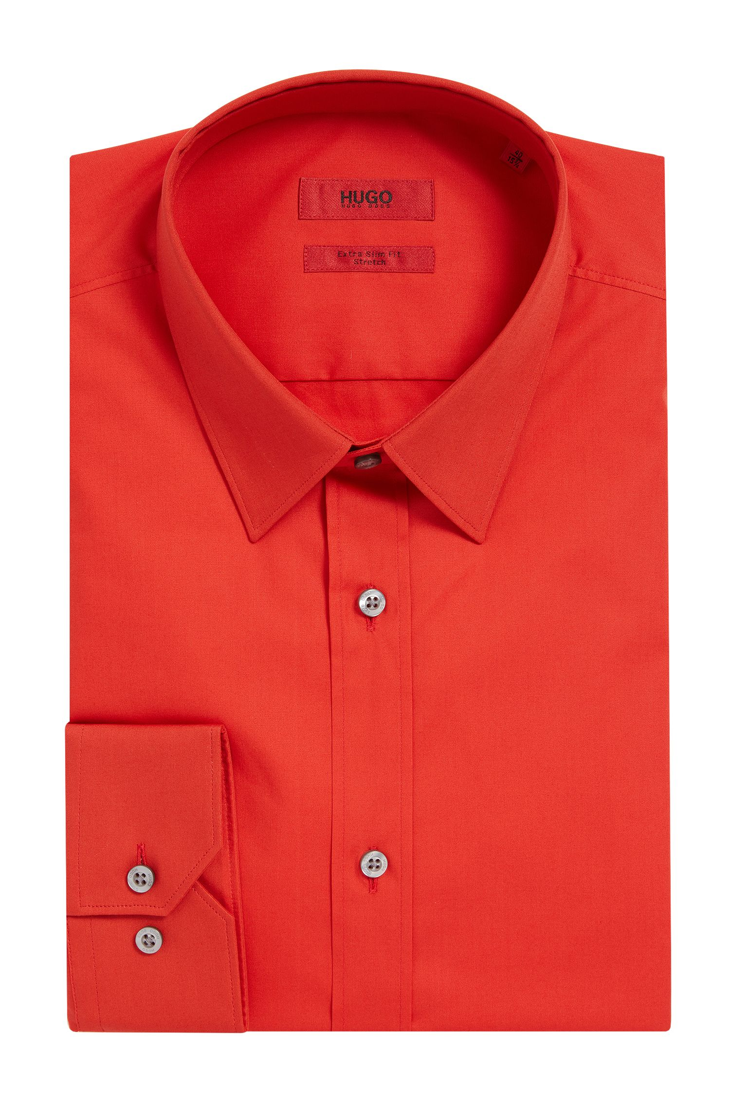 'Elisha' | Extra Slim Fit, Stretch Cotton Dress Shirt