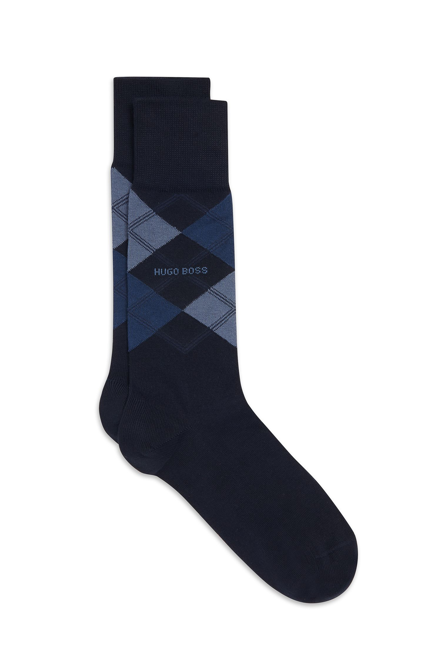 Stretch Cotton Blend Sock | James RS