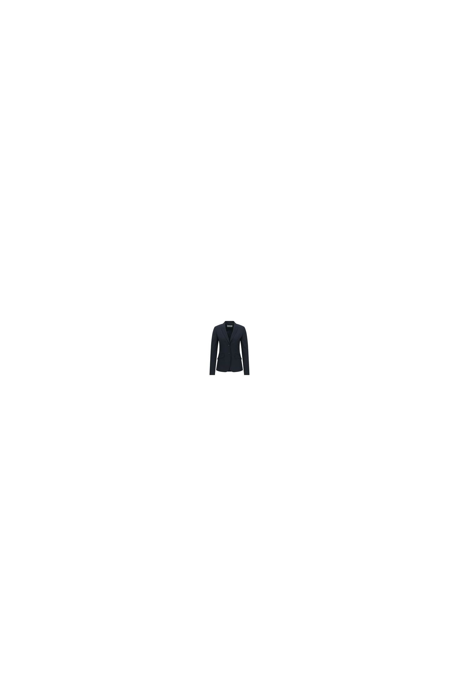 Stretch Virgin Wool Jacket | Julea