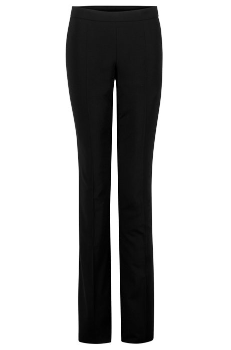 Boss by Hugo Boss Virgin Wool Mid-Rise Pants Purchase Cheap Online Low Shipping Fee Cheap Online Official Site Cheap Online d8exOq