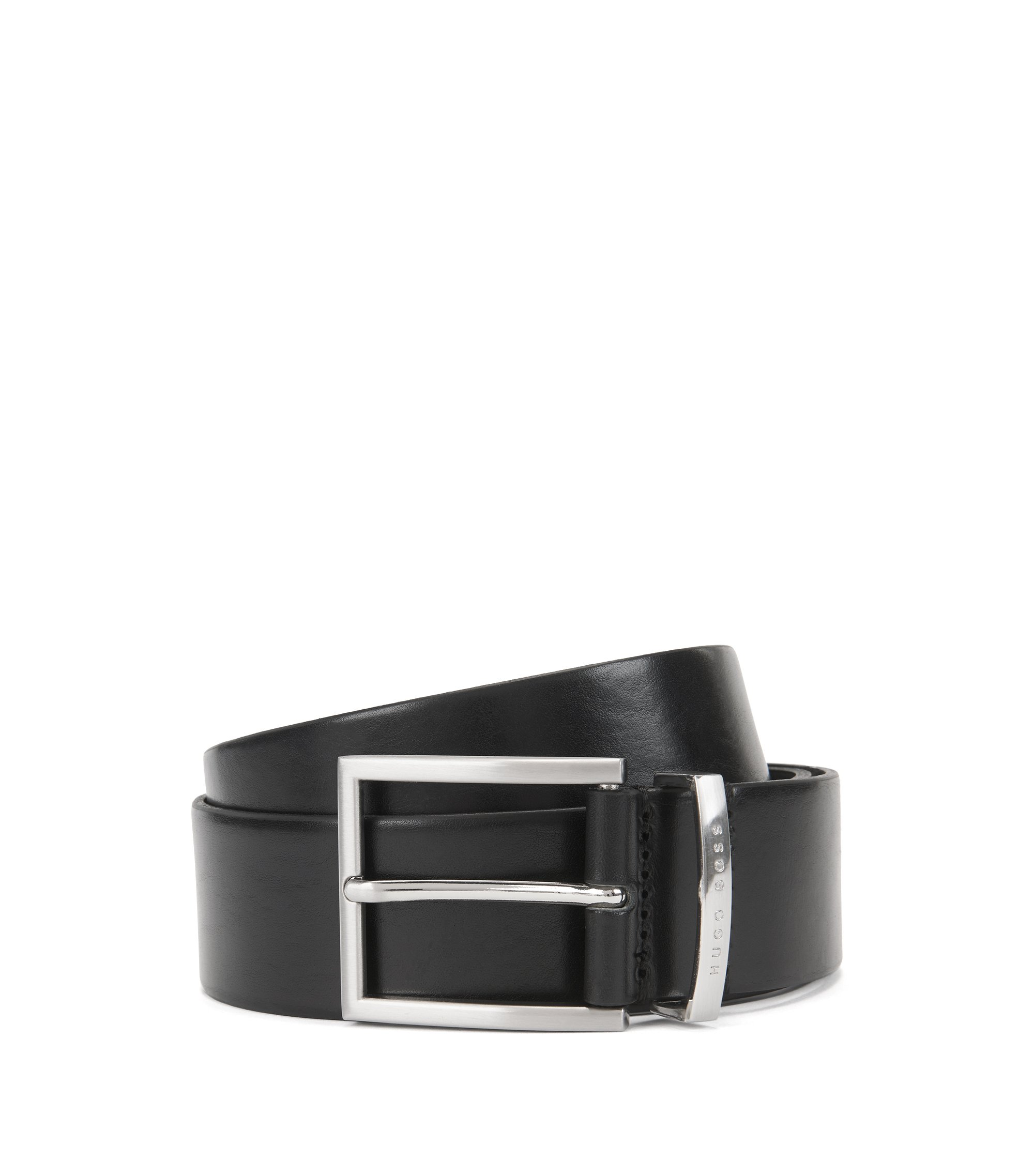 Leather Belt | Buddy, Black