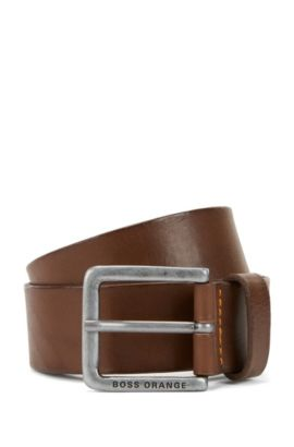 'Jeek' | Leather Belt, Dark Brown