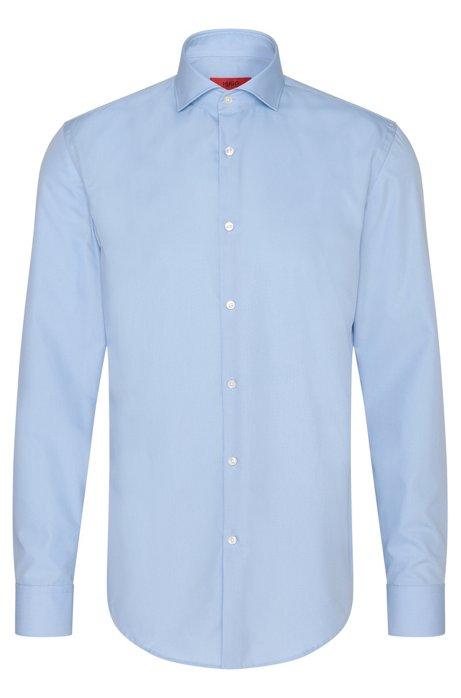 Cotton Dress Shirt, Light Blue