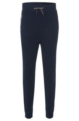 'Dawaro' | Cotton Jersey Lounge Pants, Dark Blue