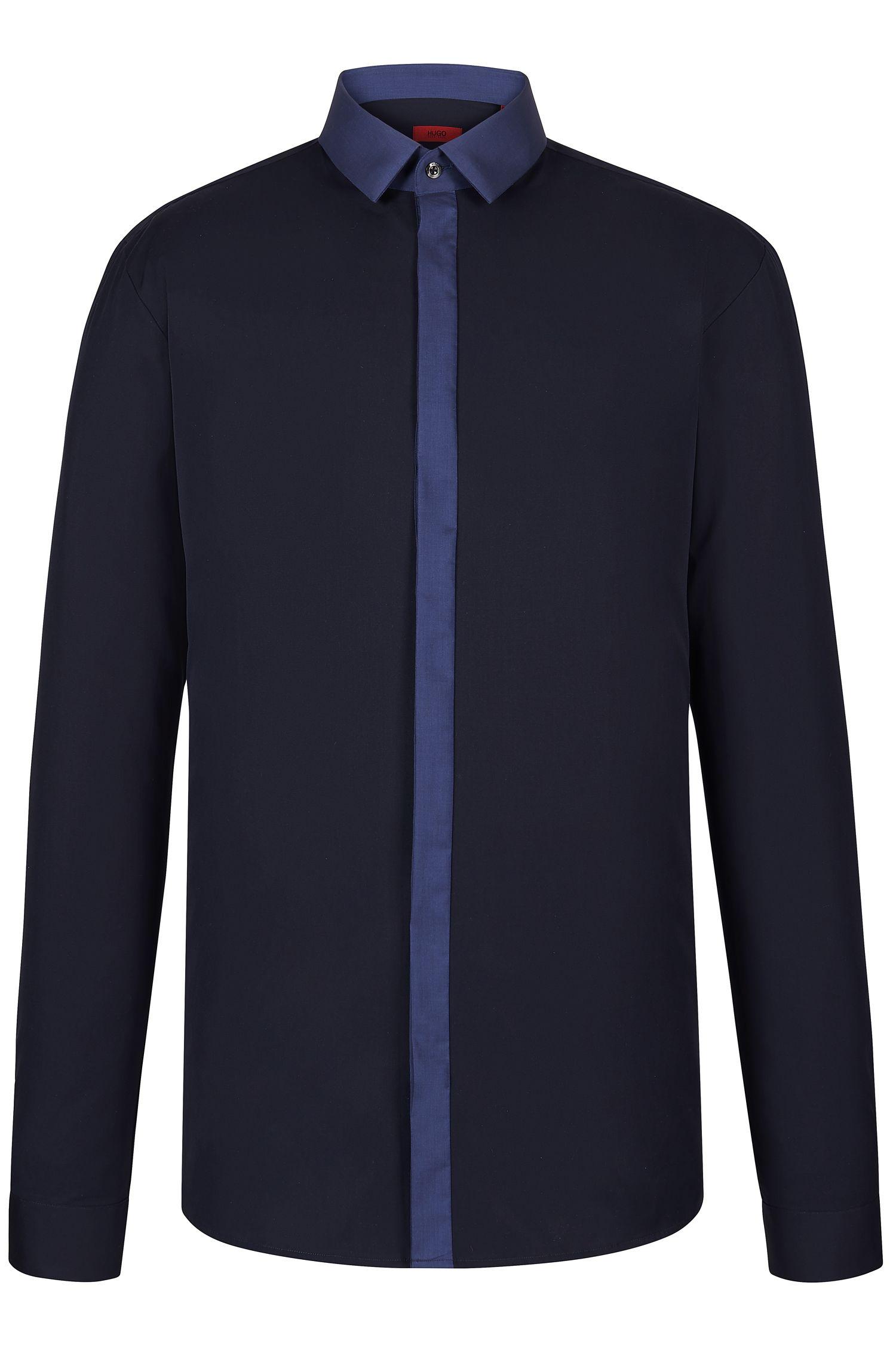 Cotton Button Down Shirt, Slim Fit | Edinburgh