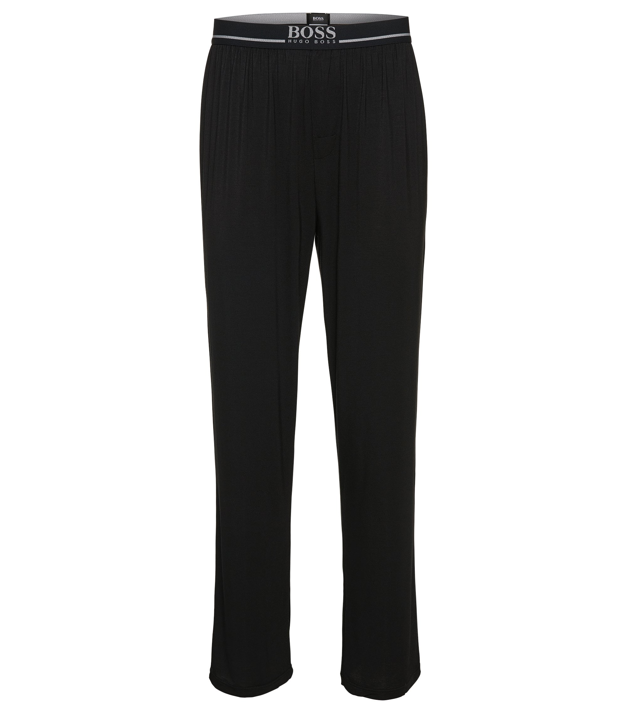 Stretch Modal Lounge Pant | Long Pant EW, Black