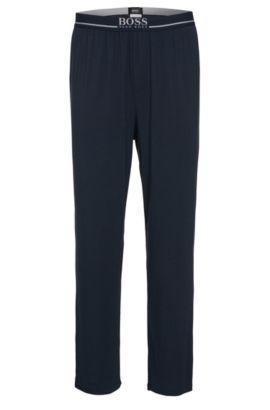 'Long Pant EW' | Stretch Modal Lounge Pants, Dark Blue
