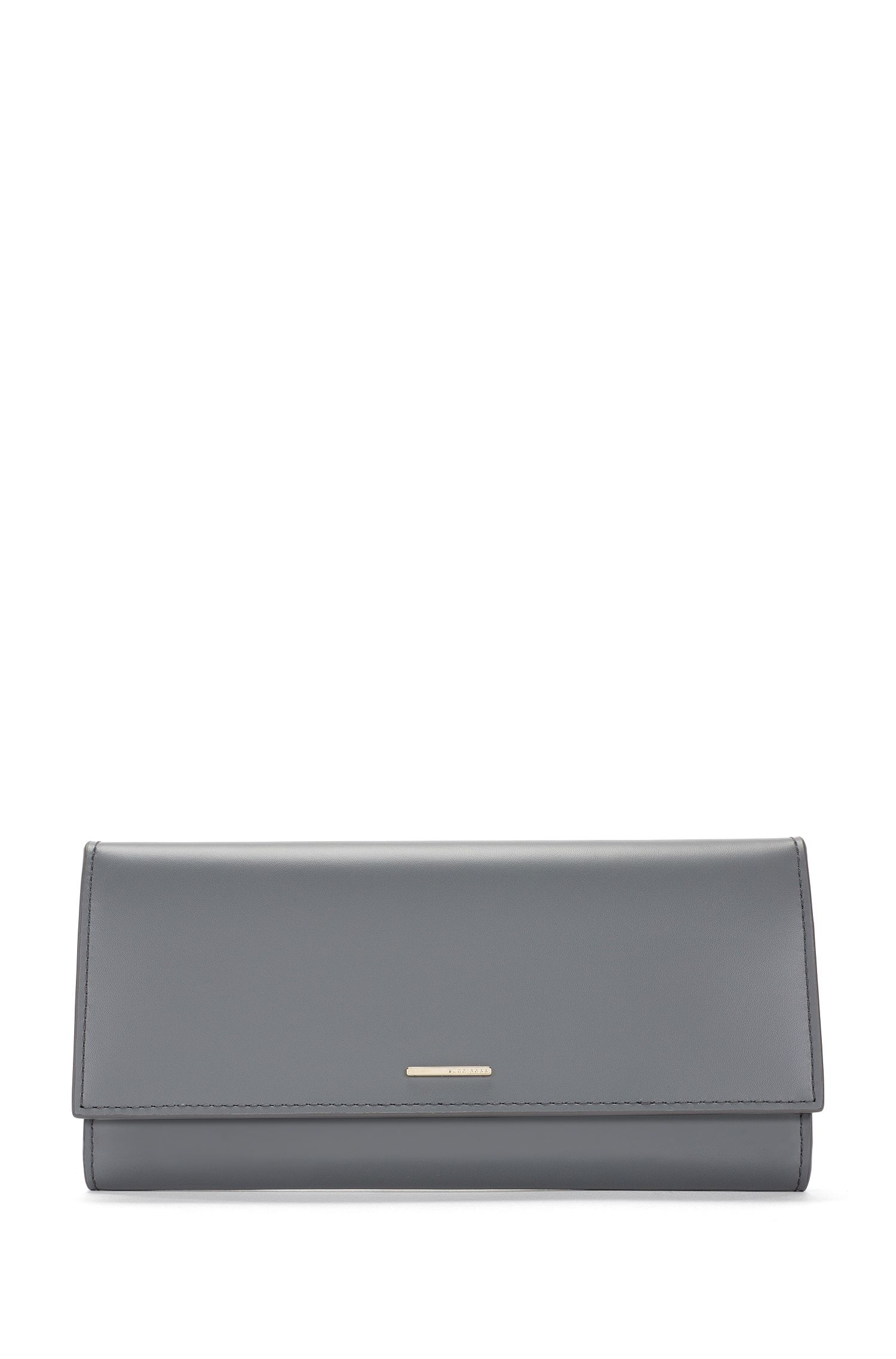 'Staple Continental-C' | Leather Long Wallet