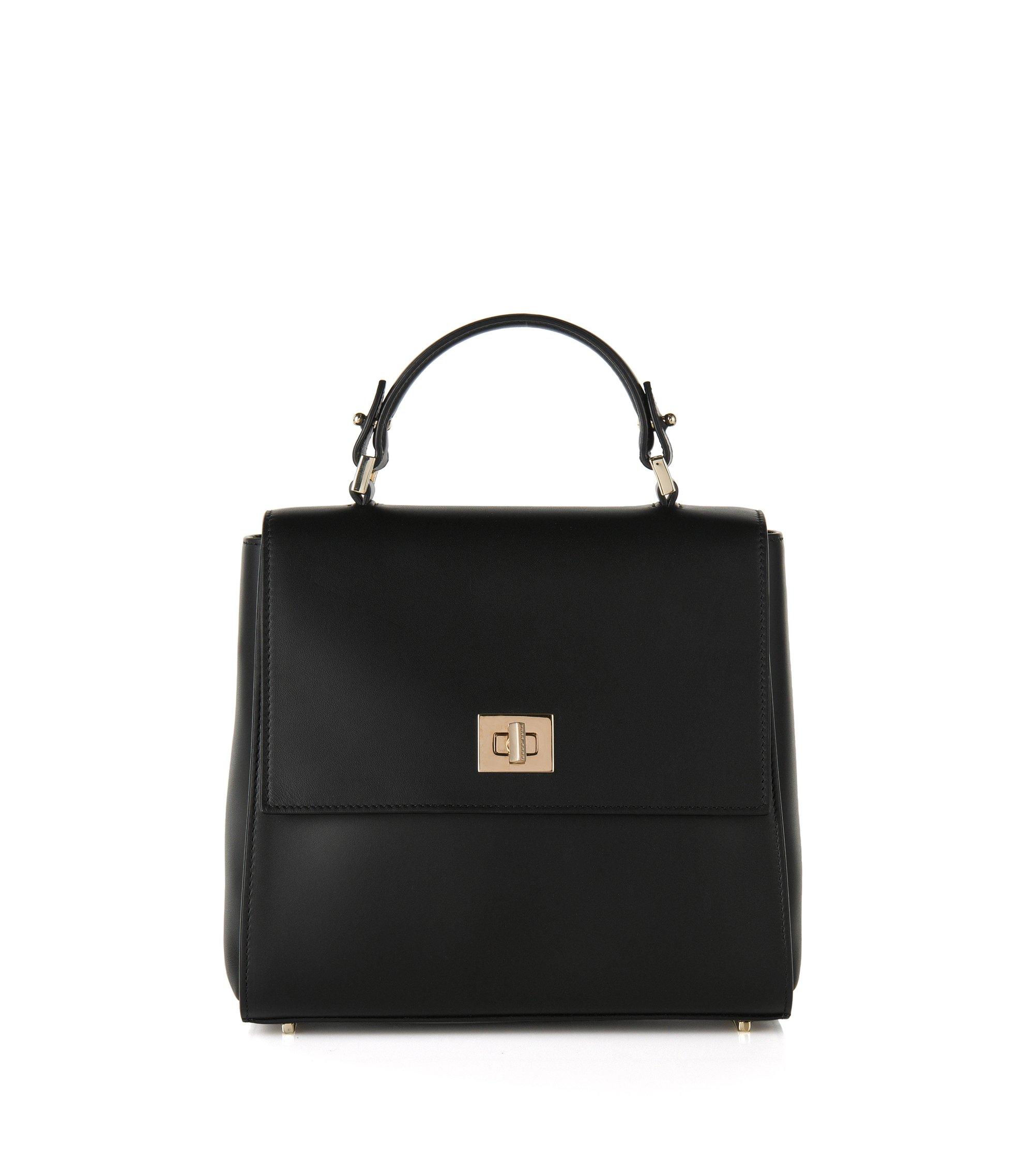 Calfskin Bag | Bespoke, Black