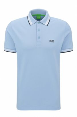 'Paddy' | Regular Fit, Cotton Polo, Dark Blue