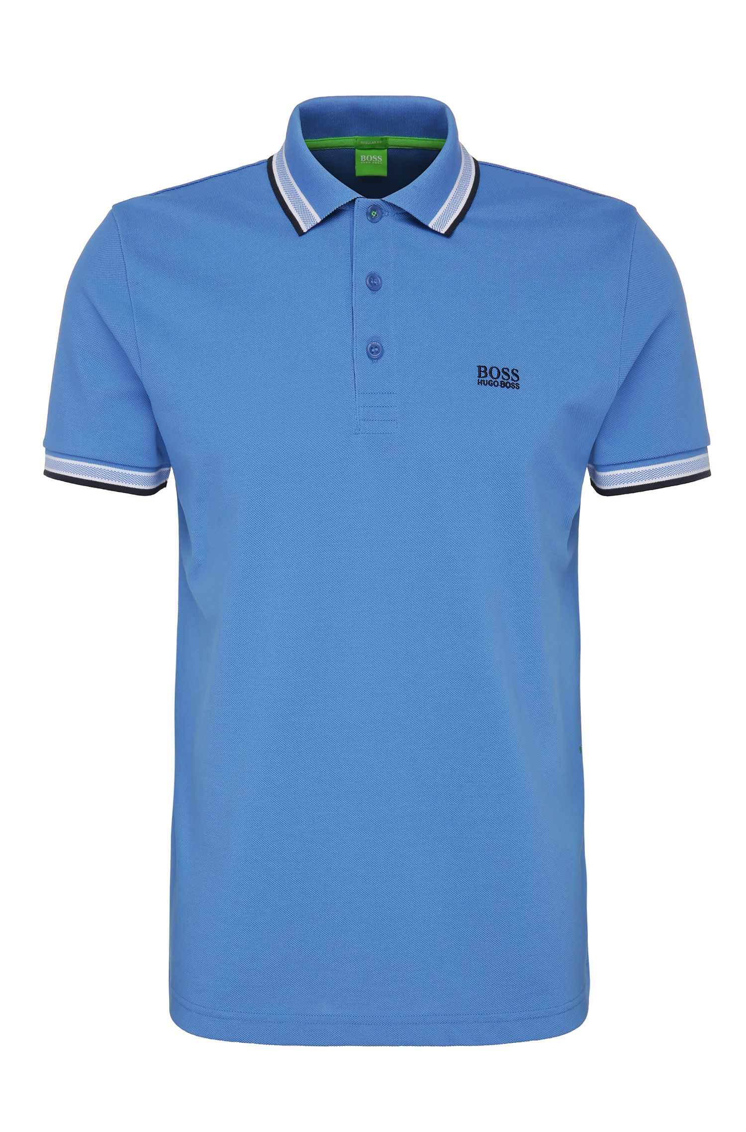 Cotton Polo Shirt, Regular Fit | Paddy