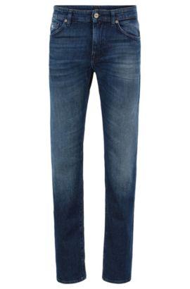11 oz Stretch Cotton Jeans, Regular Fit | Maine, Blue