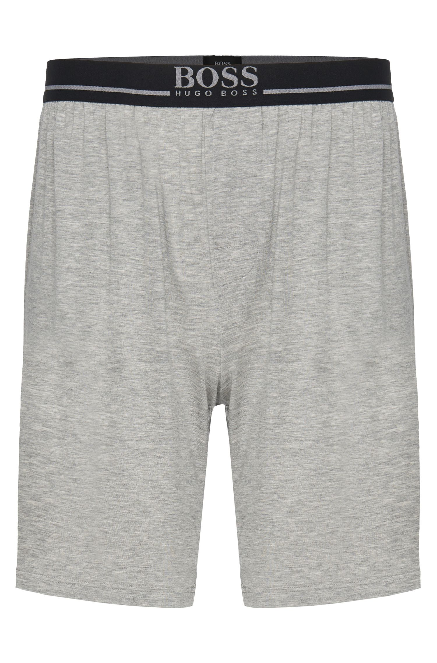 Stretch Modal Lounge Shorts | Short Pant EW, Grey