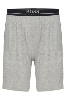 'Short Pant EW'   Stretch Modal Lounge Shorts, Grey
