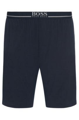 'Short Pant EW' | Stretch Modal Lounge Shorts, Dark Blue
