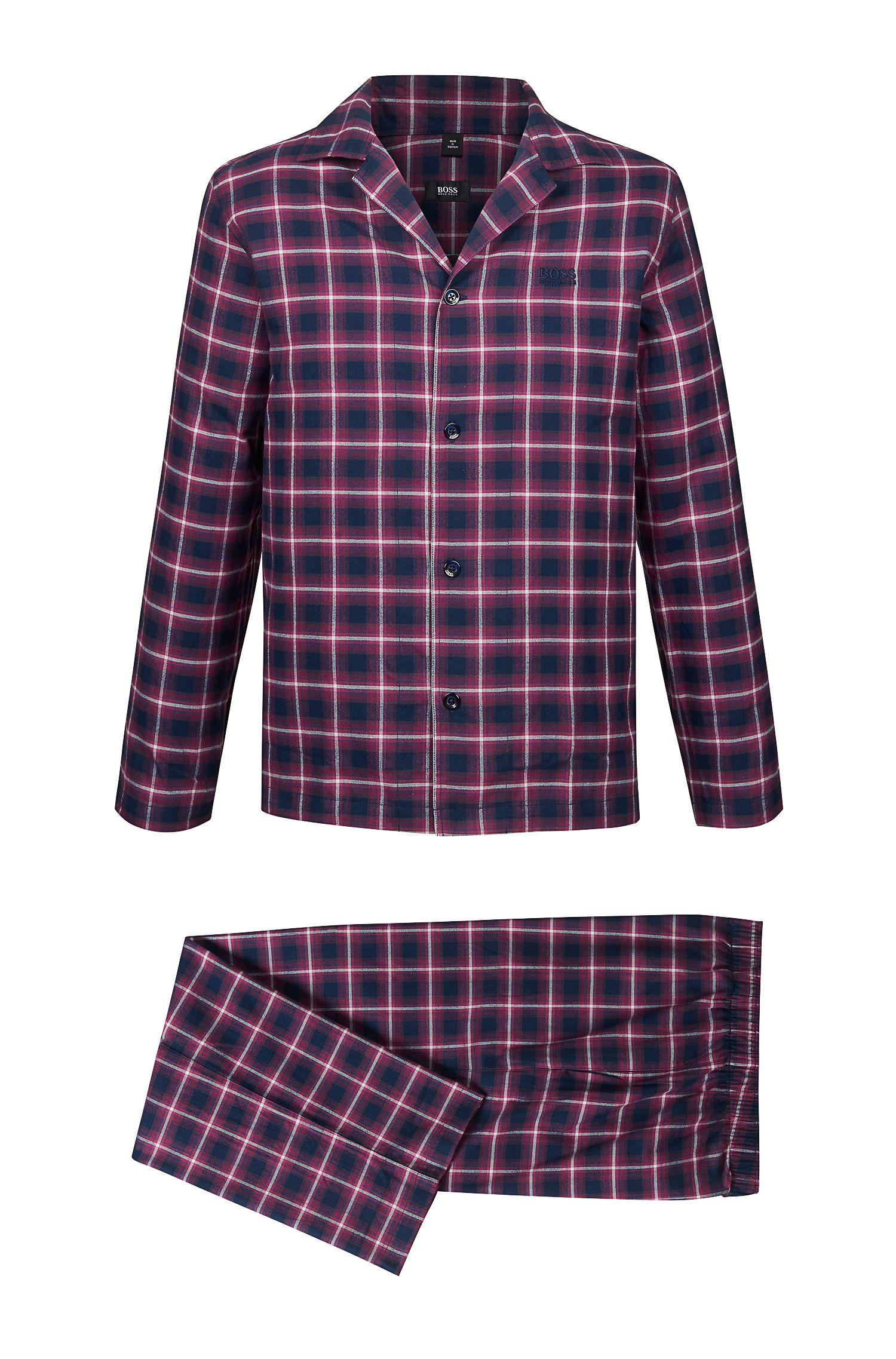 'Pyjama' | Cotton Flannel Pajama Set