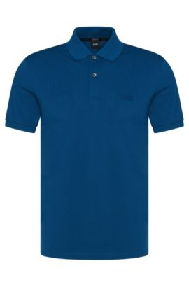 'Pallas' | Regular Fit, Cotton Polo, Turquoise