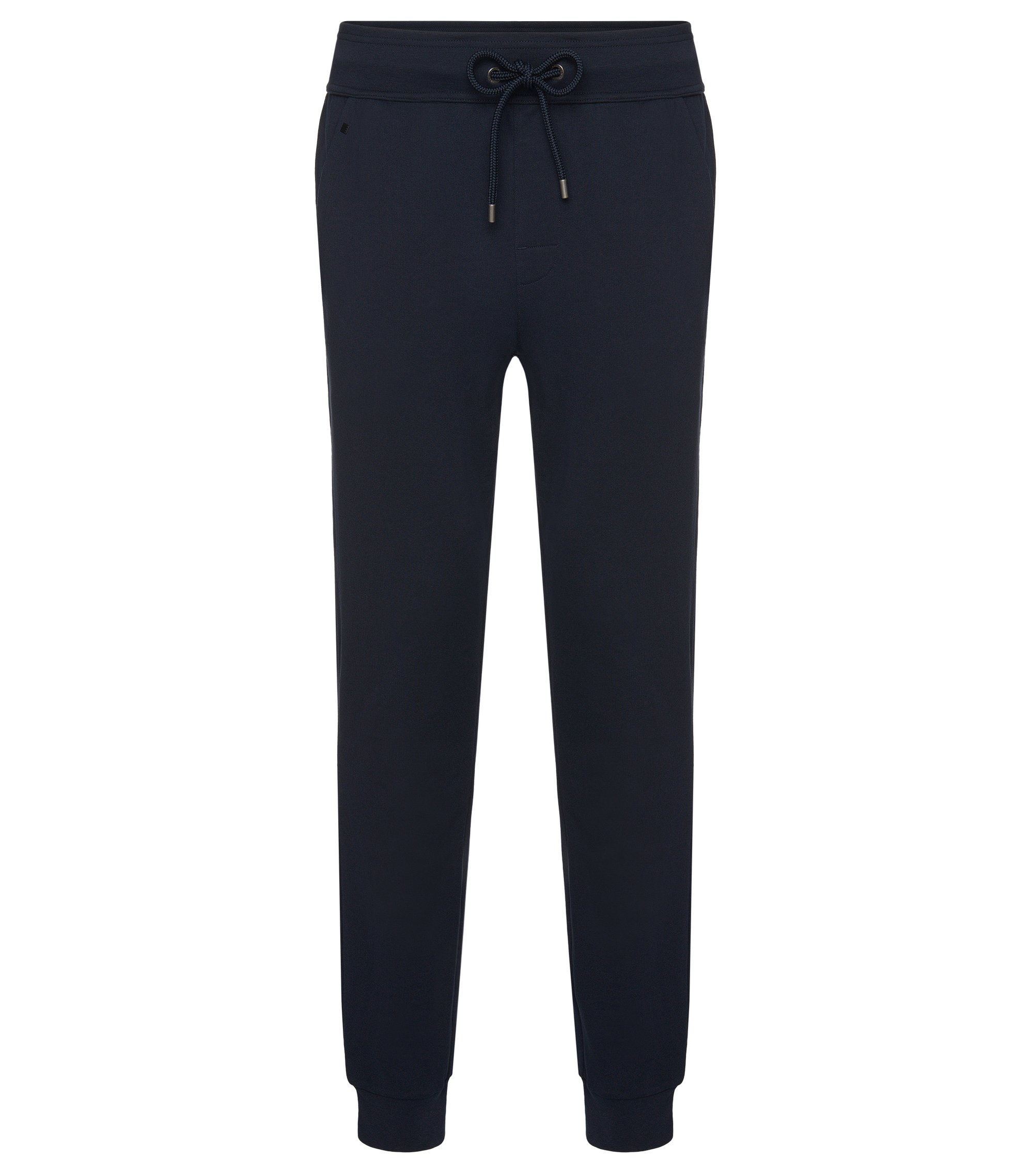 Cotton Sweat Pant | Long Pant Cuffs, Dark Blue