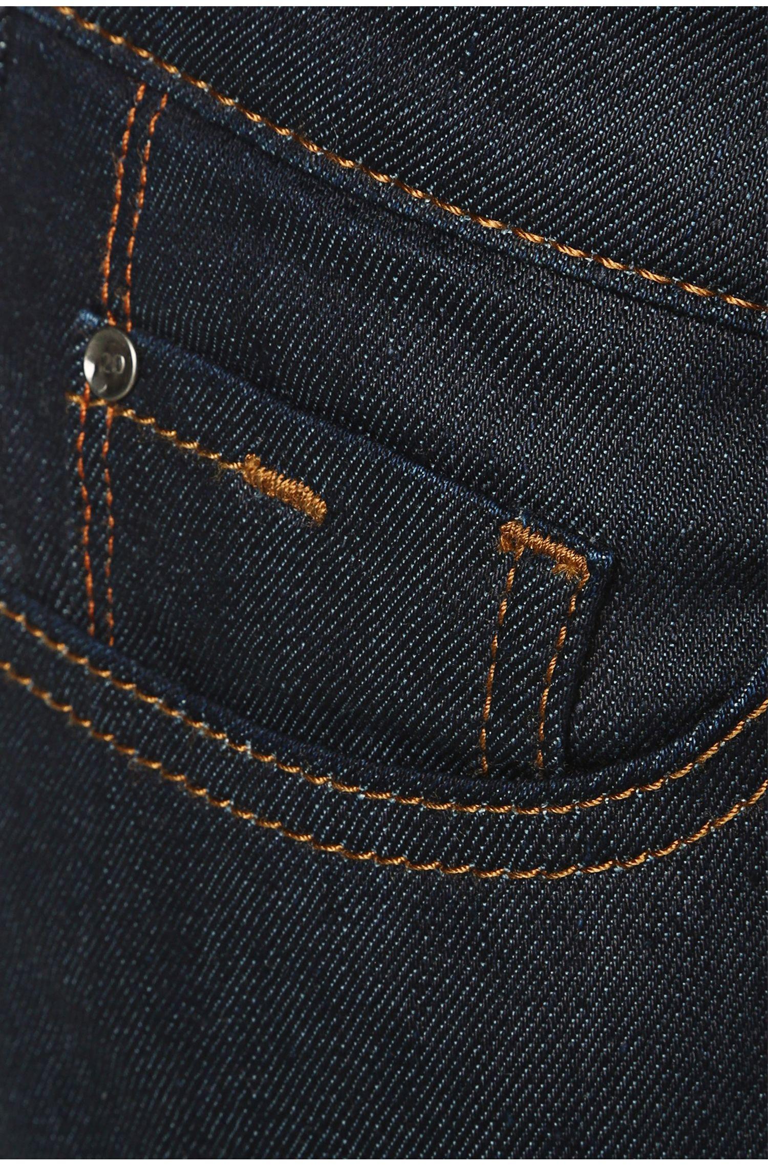 Stretch Cotton Slim Jean, Slim Fit | Orange J