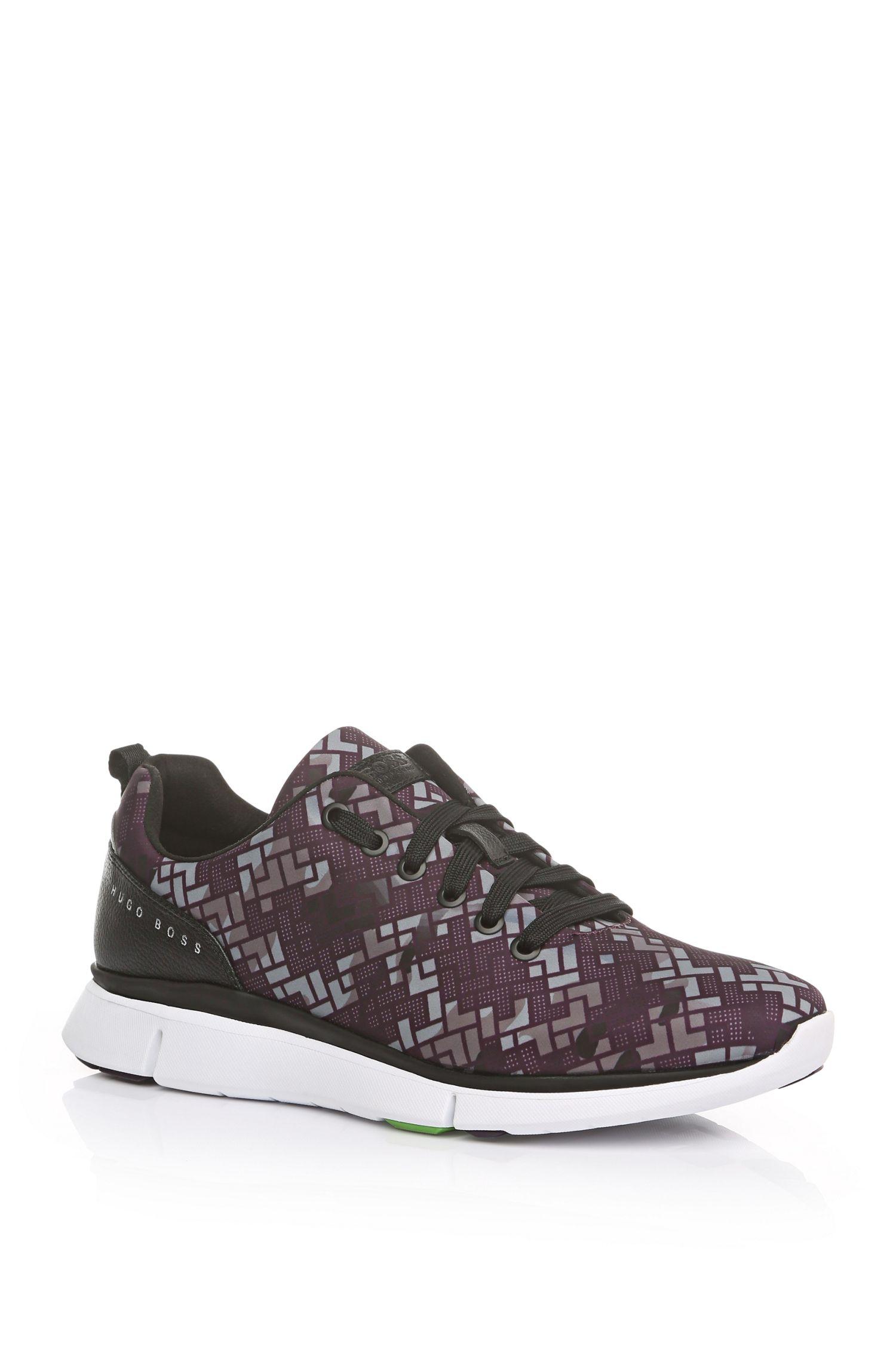 Printed Nylon Sneaker | Gym Print