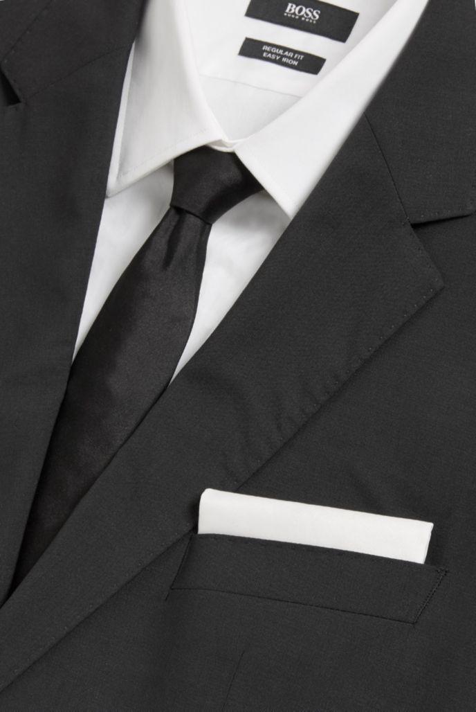 Jacquard pocket square in pure silk