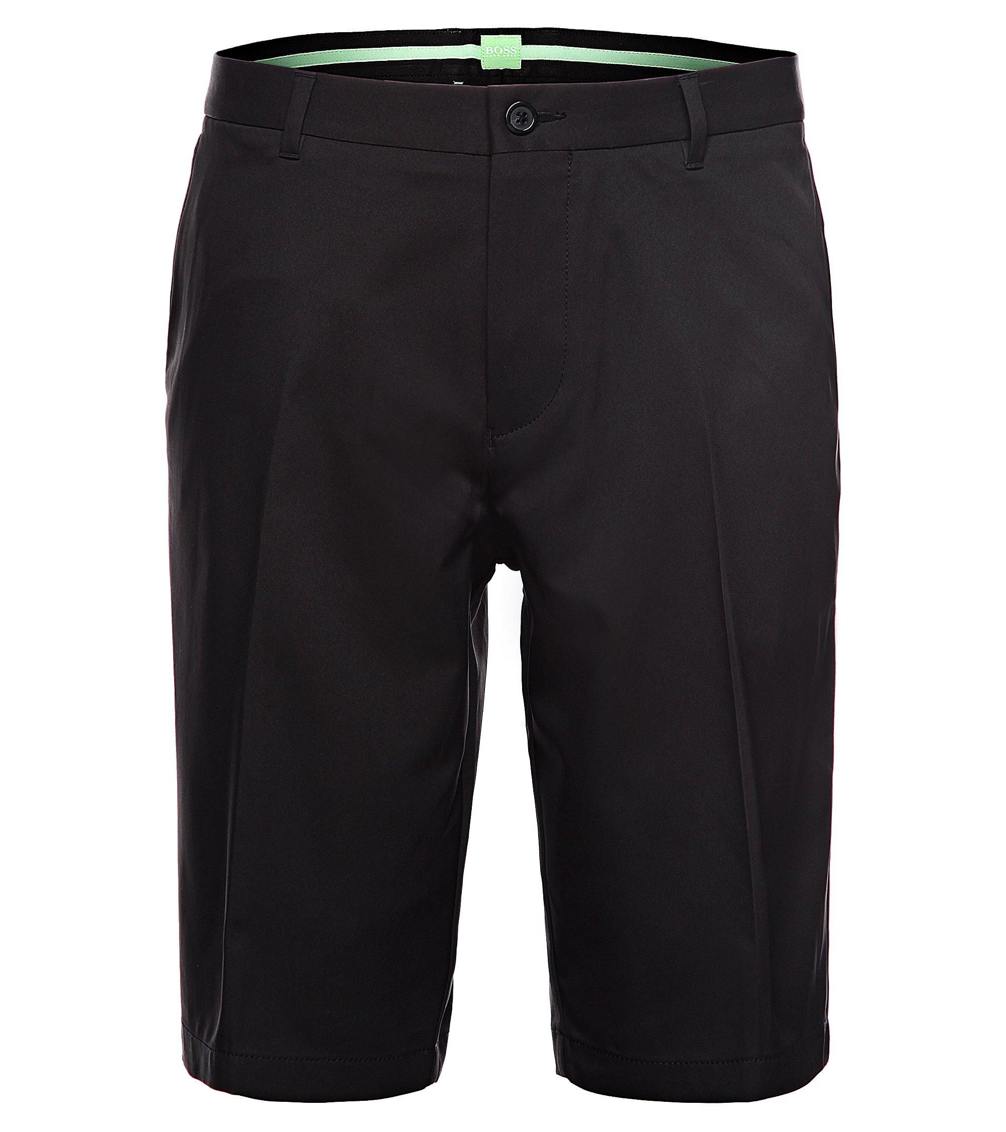 Woven Bermuda Shorts, Regular Fit | Hayler, Black