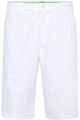 Woven Bermuda Shorts, Regular Fit   Hayler, White