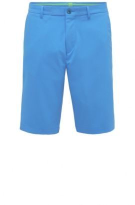 'Hayler' | Regular Fit, Woven Bermuda Shorts , Blue