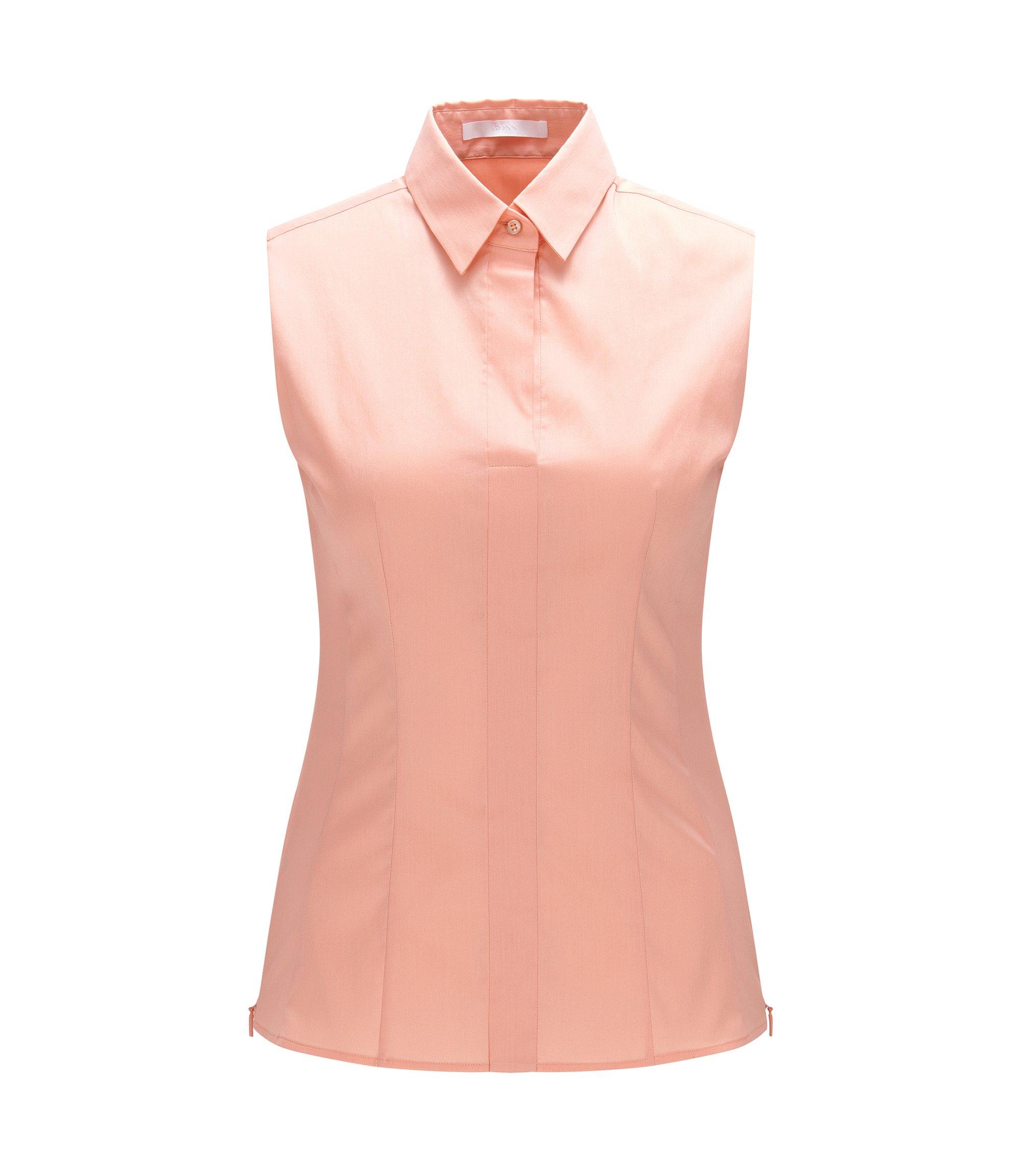 Cotton Blend Shell | Bashiva, Open Pink