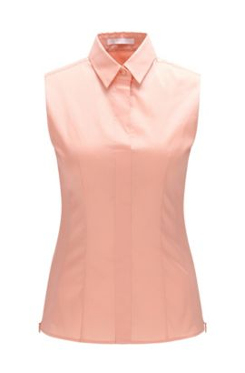 'Bashiva' | Cotton Blend Shell , Open Pink