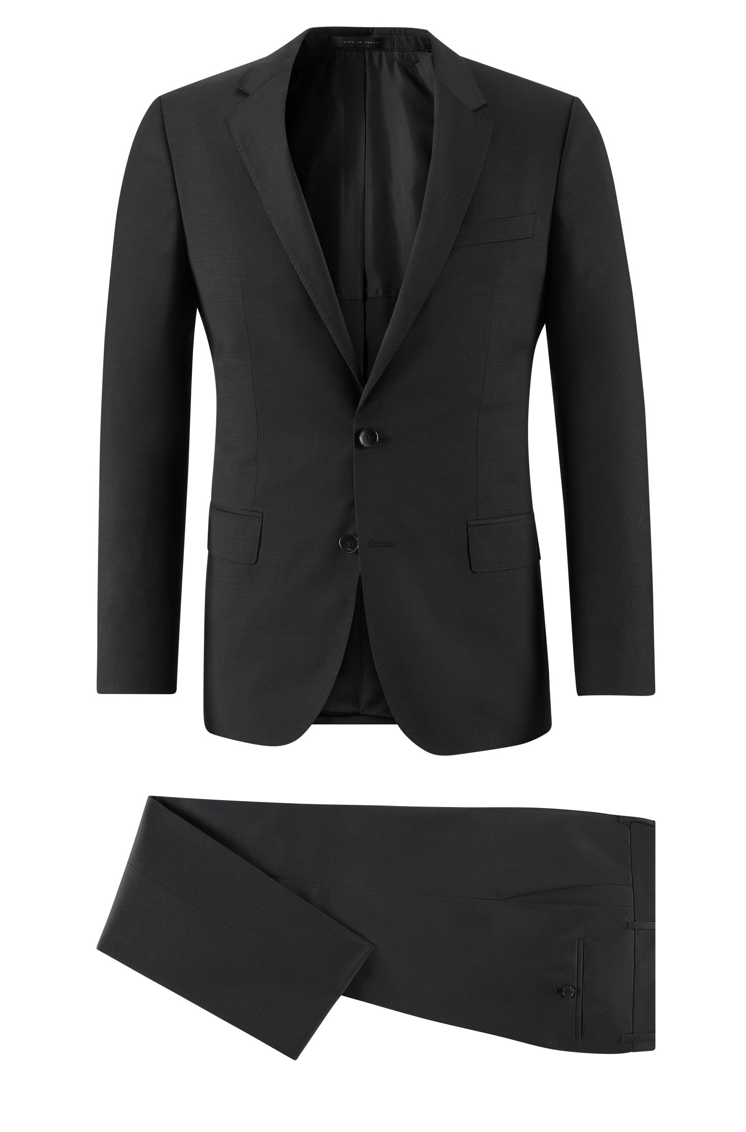 Virgin Wool Suit, Slim Fit | Huge/Genius