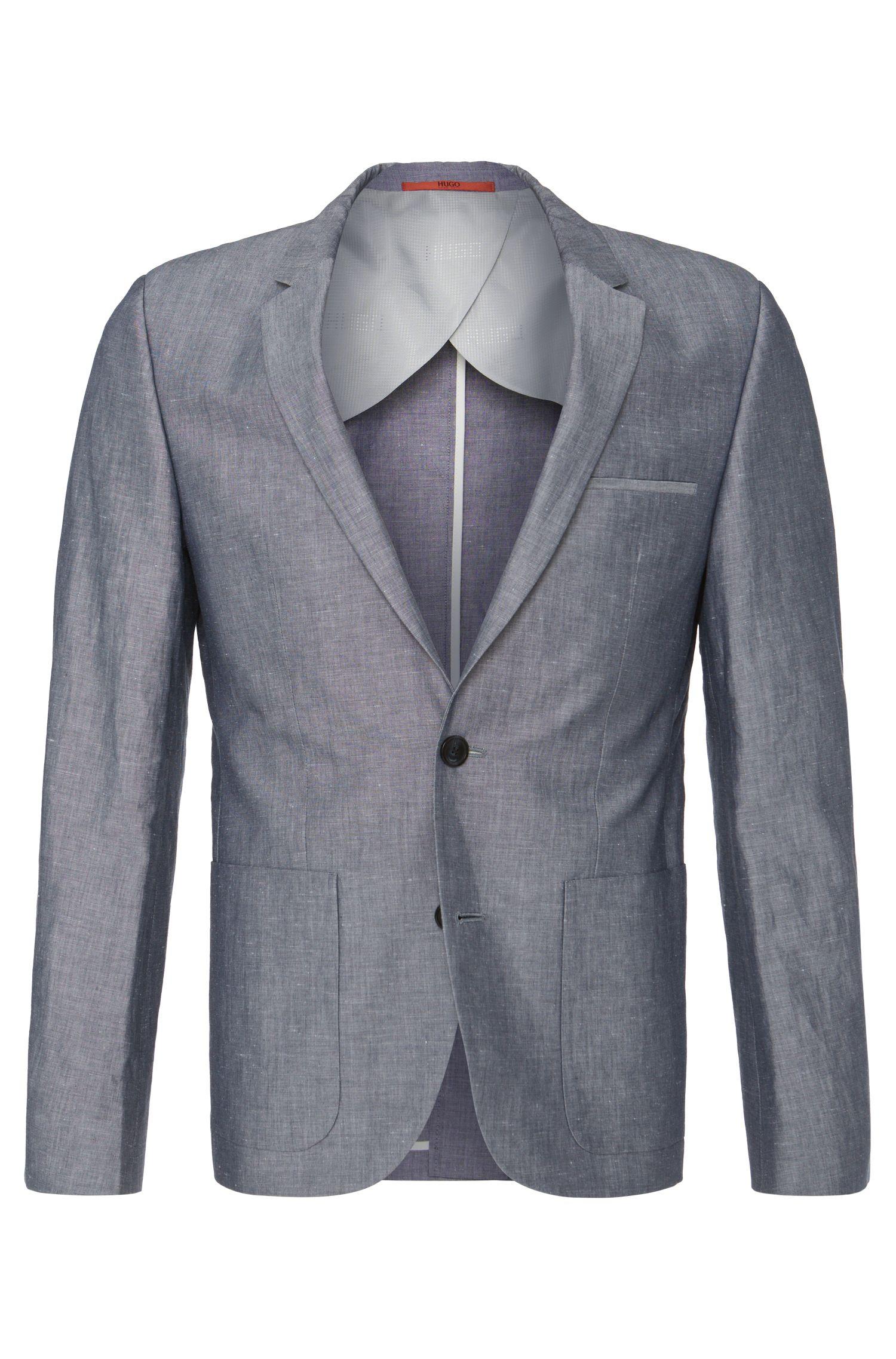 'Alesono' | Slim Fit, Linen Cotton Sport Coat