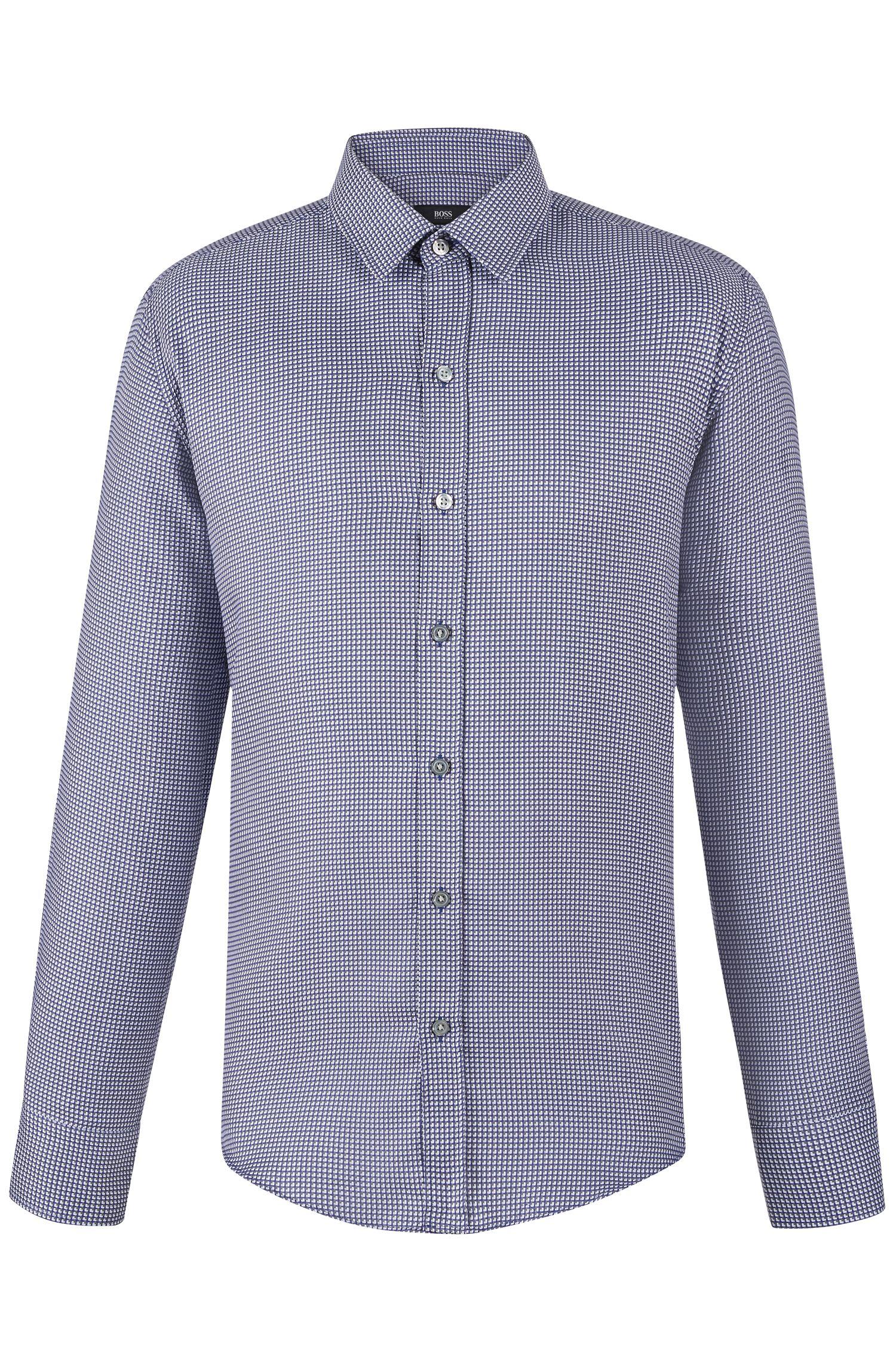 'Robbie'   Slim Fit, Cotton Button Down Shirt