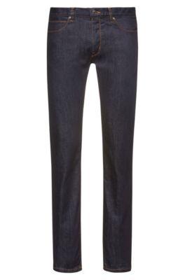 4d7ebaf2 Slim-fit jeans in stay-blue stretch denim
