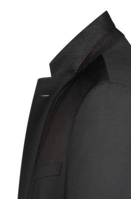 3d299a33d HUGO - Virgin Wool Suit, Slim Fit | C-Jeffrey/C-Simmons