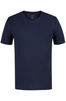 Mercerized Cotton T-Shirt | Tilson, Dark Blue