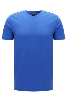 Mercerized Cotton T-Shirt | Tilson, Blue
