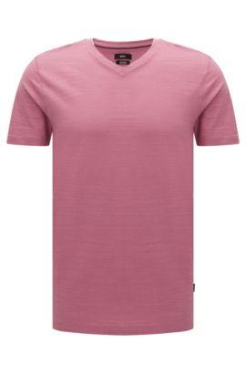 'Tilson' | Mercerized Cotton T-Shirt, Pink