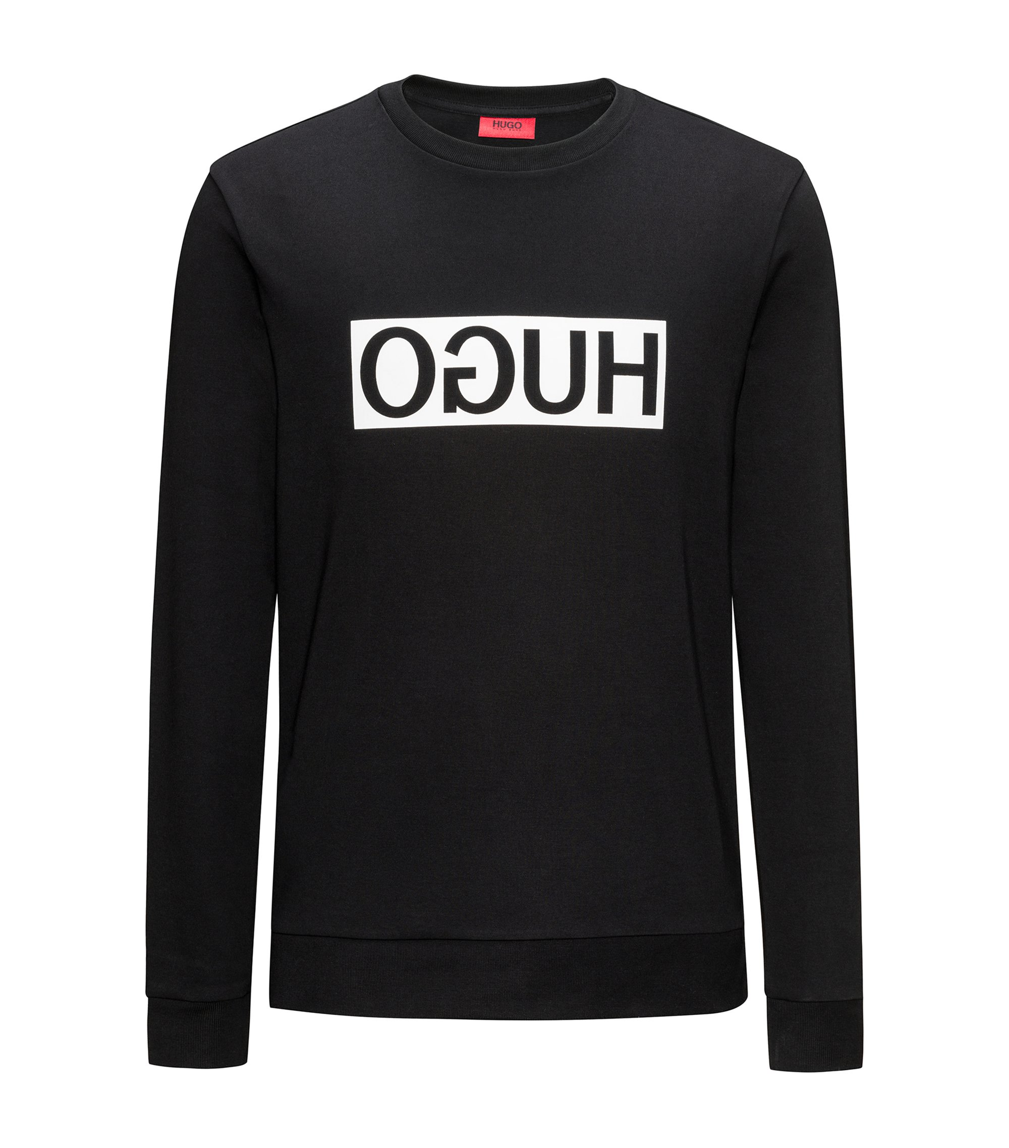 Cotton Logo Sweatshirt | Dicago, Black