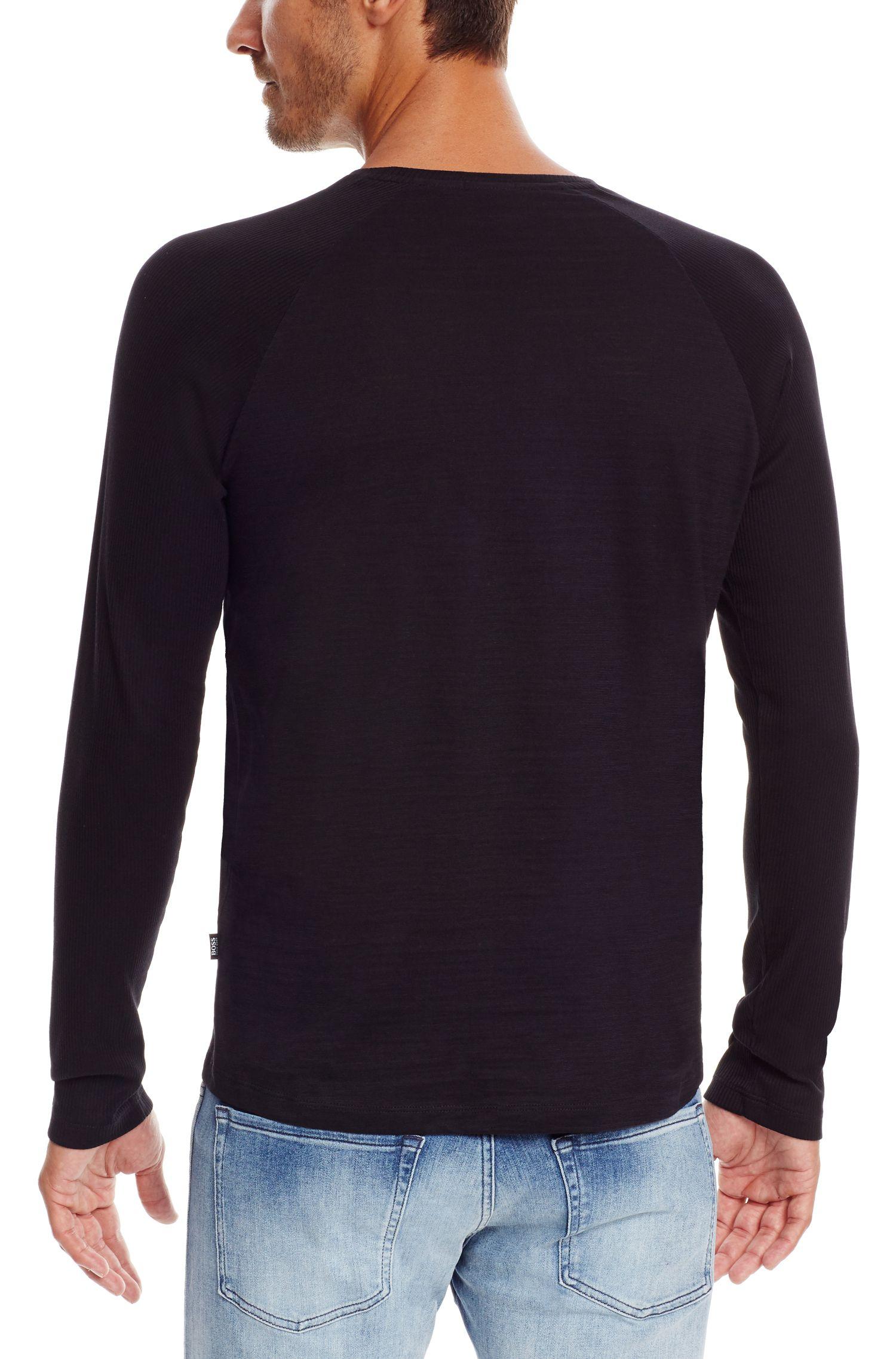 Cotton T-Shirt | Terell, Black