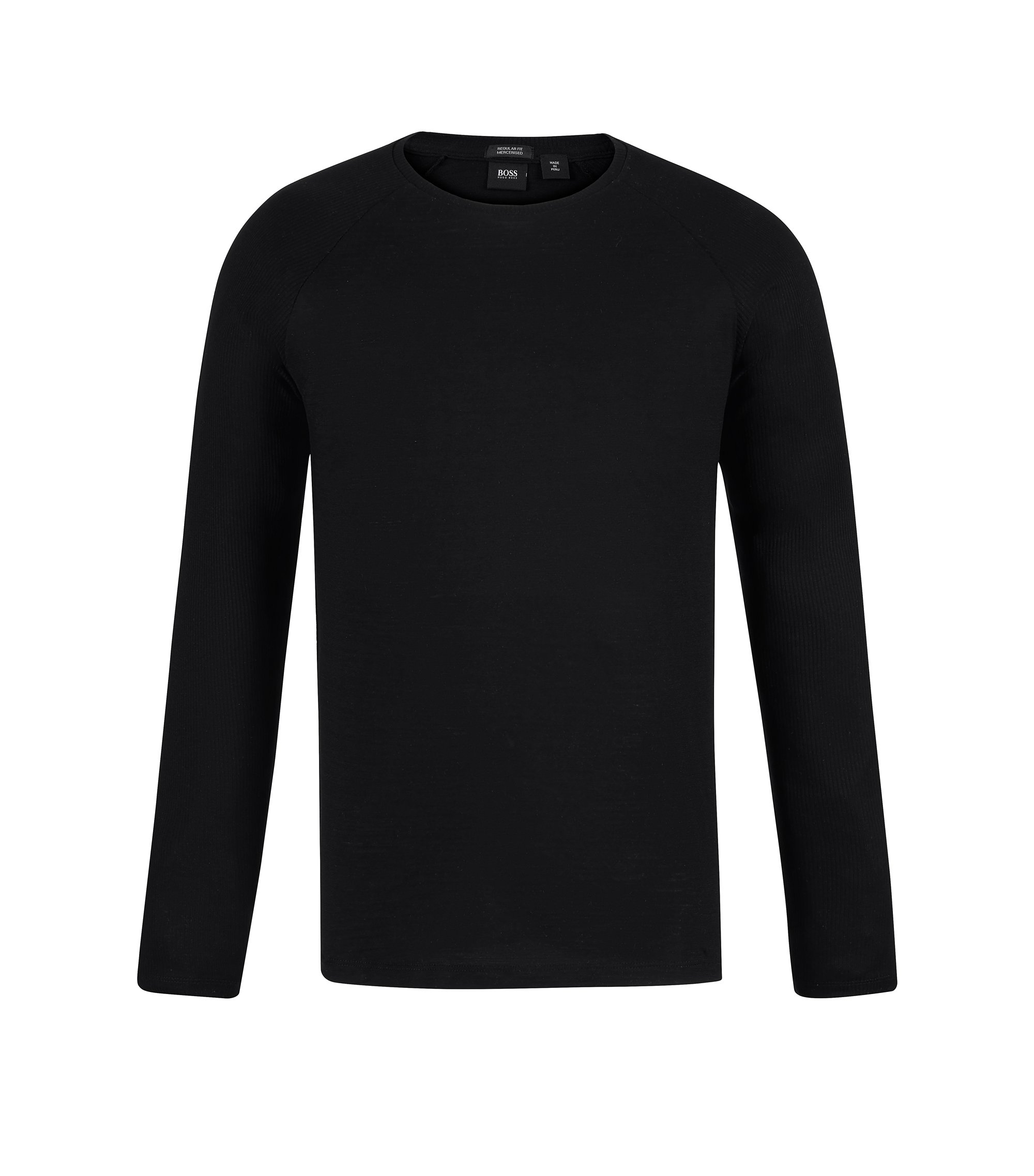 Cotton T-Shirt | Terell, Black