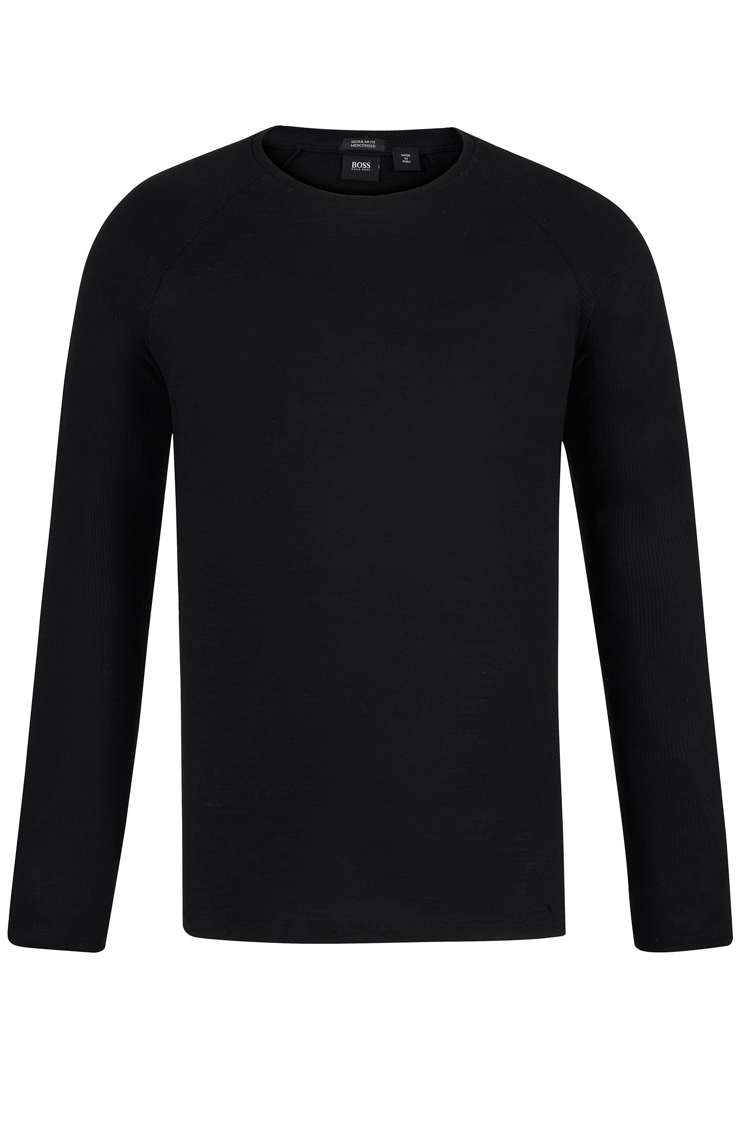 Cotton Long-Sleeved T-Shirt   Terell