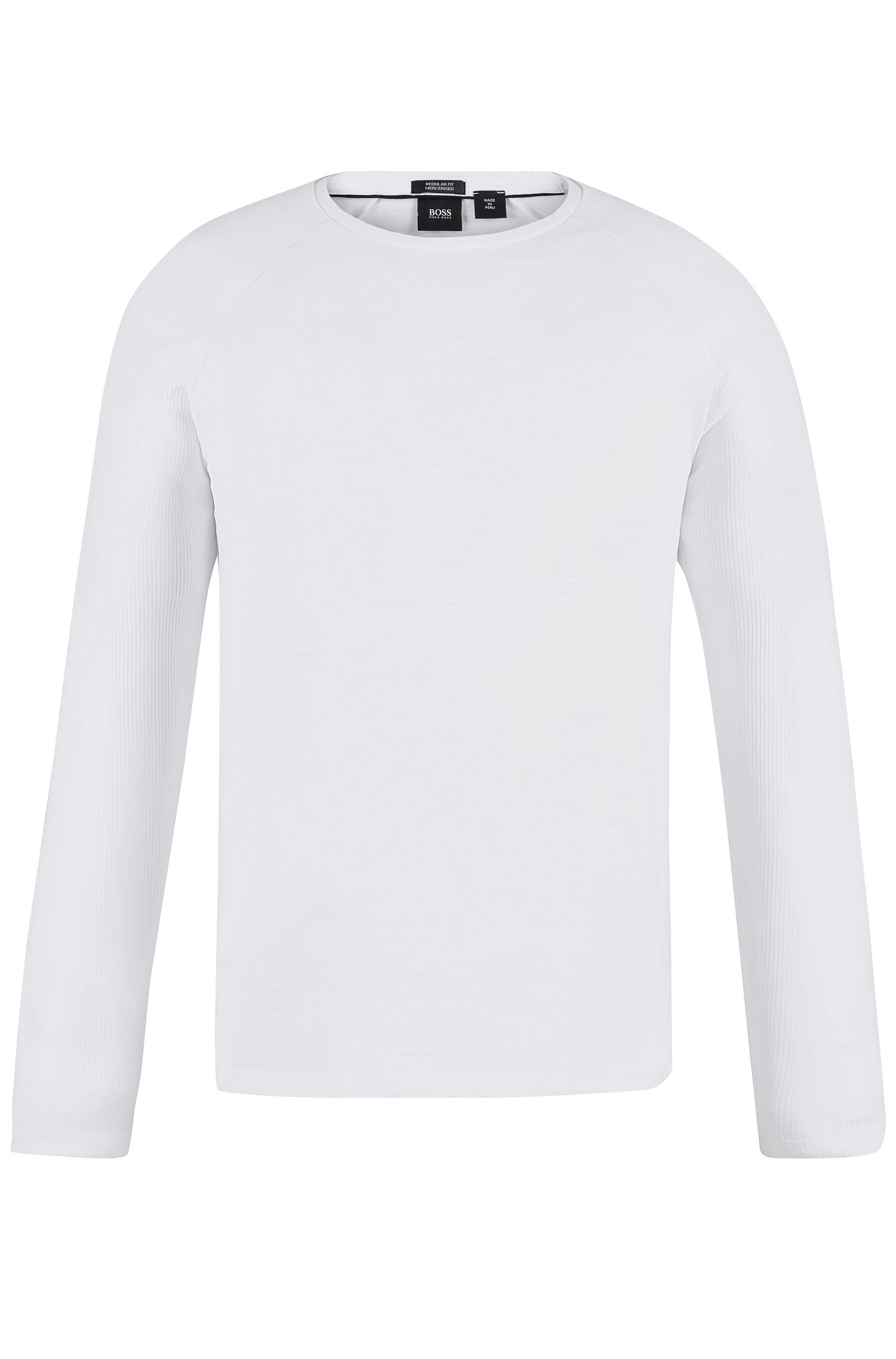 Cotton Long-Sleeved T-Shirt | Terell