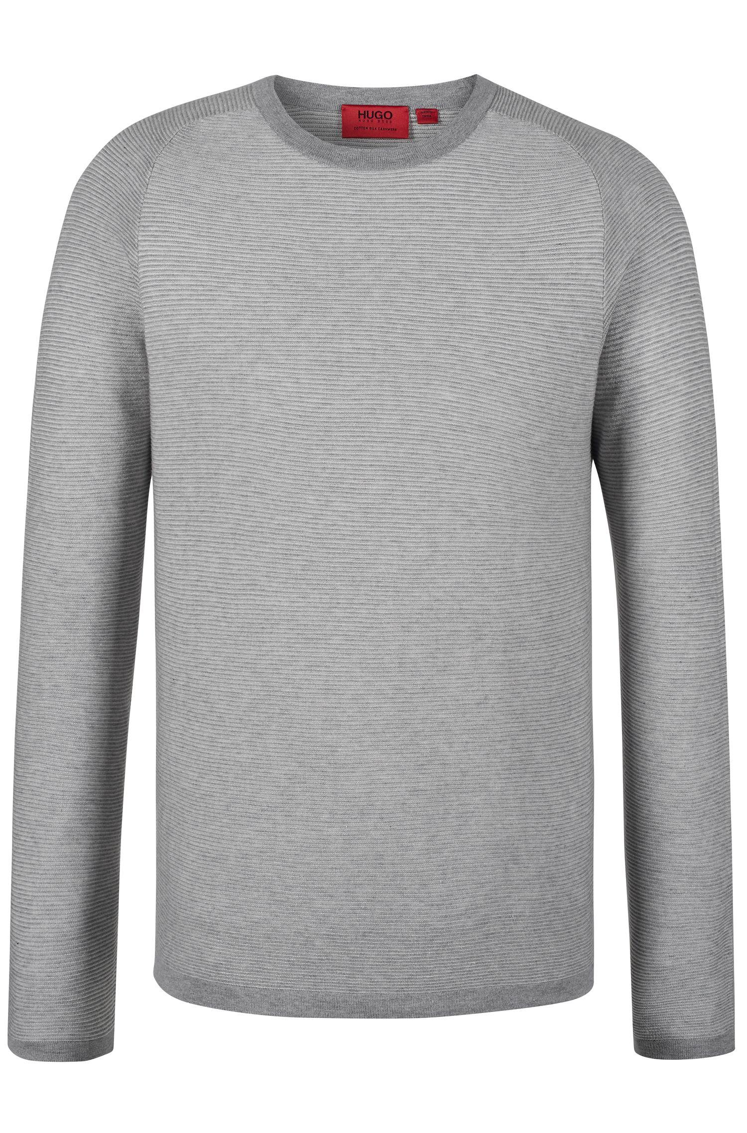 'Sraglan'   Cotton Silk Cashmere Sweater
