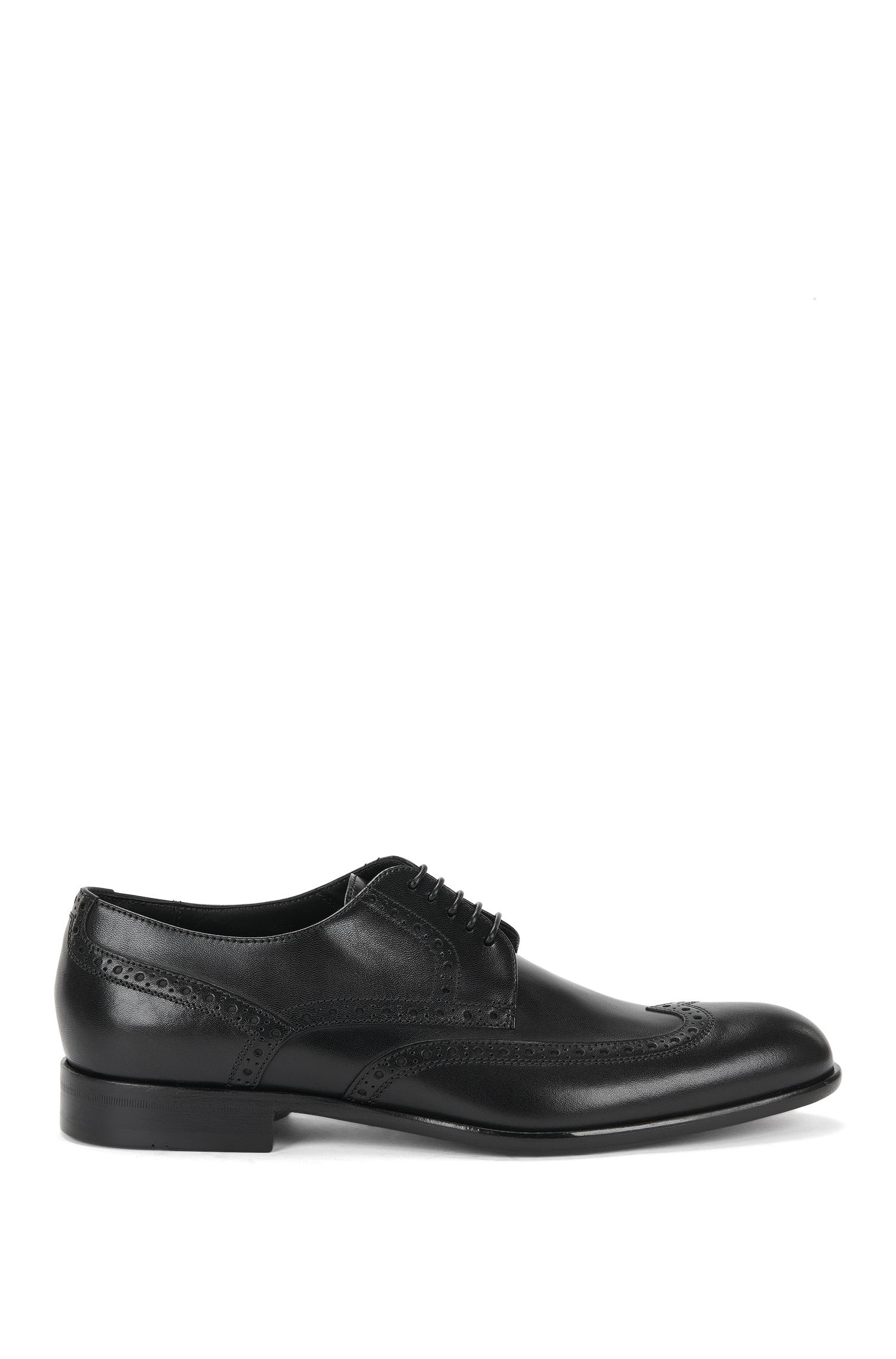 'Manperd' | Italian Calfskin Wingtip Derby Dress Shoes