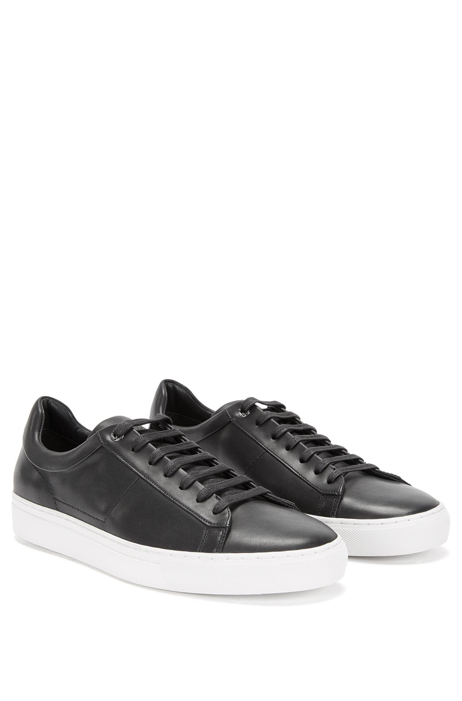 Italian Calfskin Sneaker | Timaker, Black