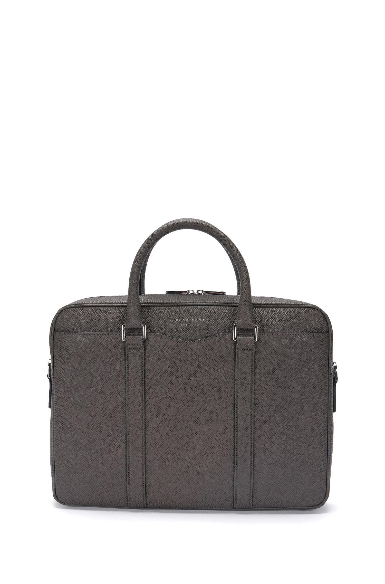 Italian Calfskin Workbag | Signature S Doc